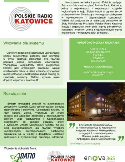 POLSKIE RADIO KATOWICE S.A.
