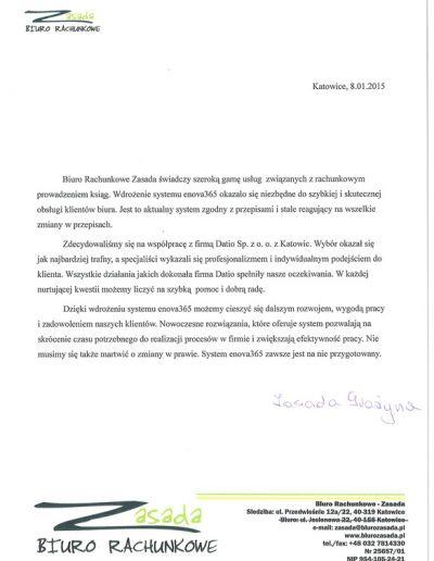 BIURO RACHUNKOWE ZASADA